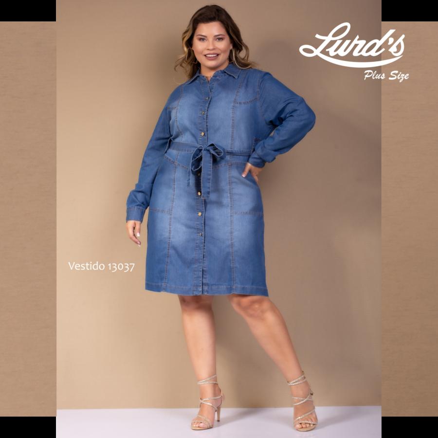 Vestido Jeans 13037