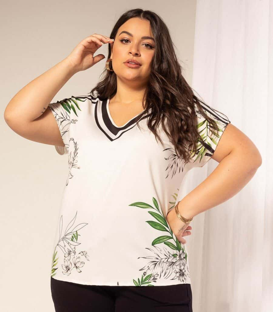Blusa Plus Size 6151876