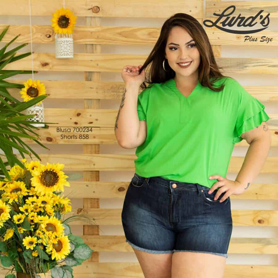 Shorts Jeans 858