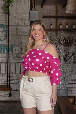 Cropped Plus Size 700316