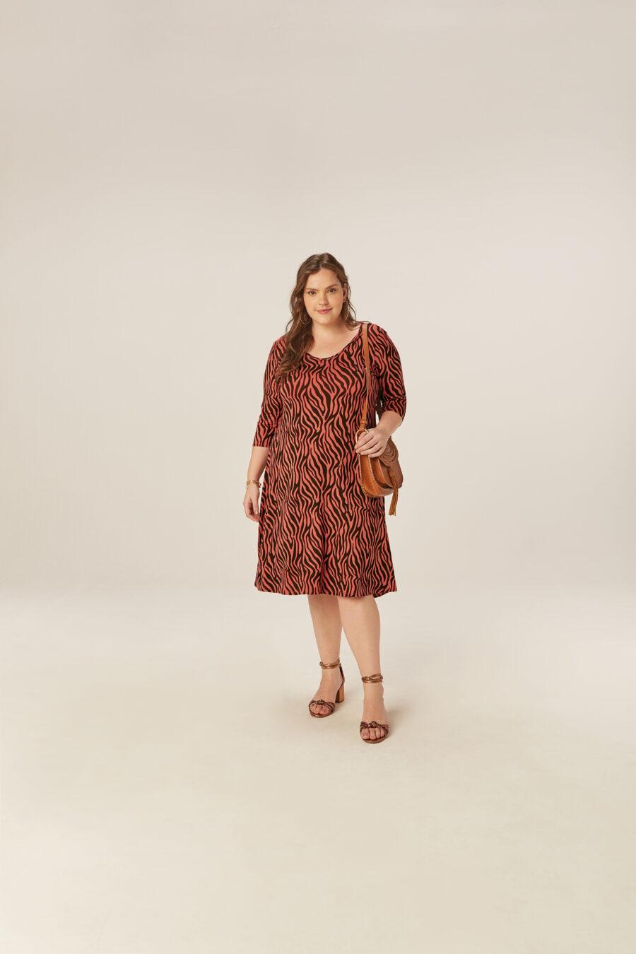 Vestido Plus Size 78675