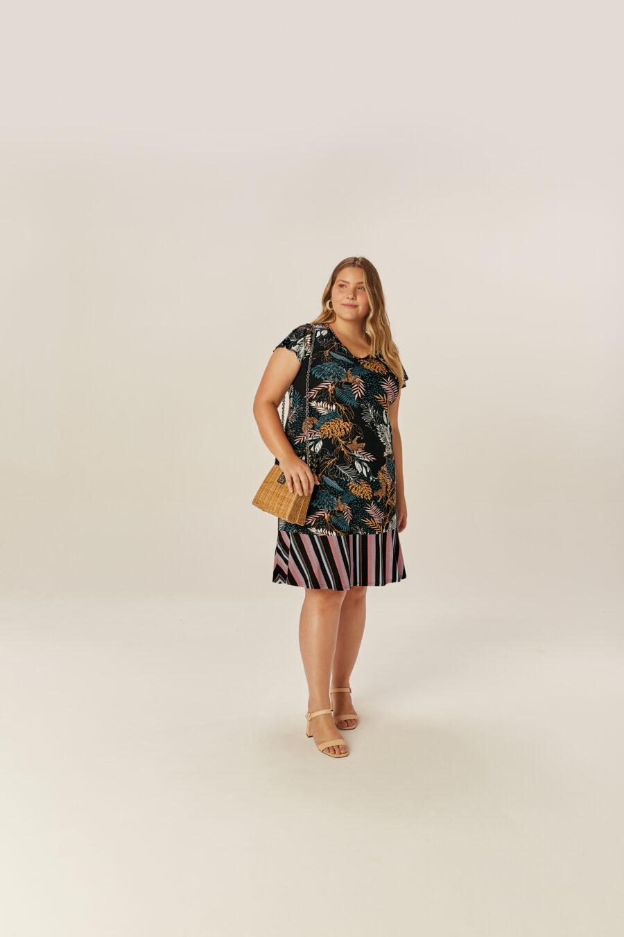 Vestido Plus Size 81130