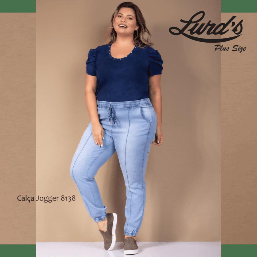 Calça Jeans Jogger 8138