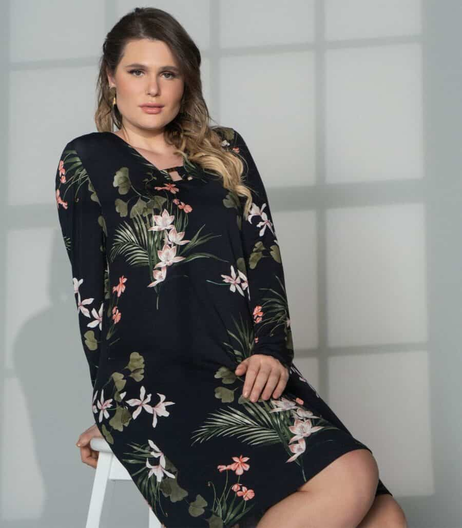 Vestido Plus Size S00706