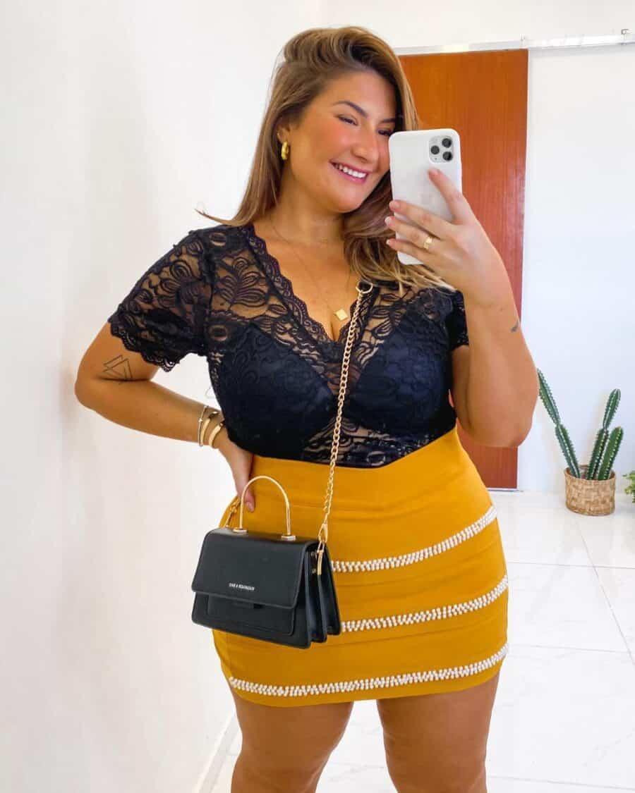 Blusa Plus Size V20221