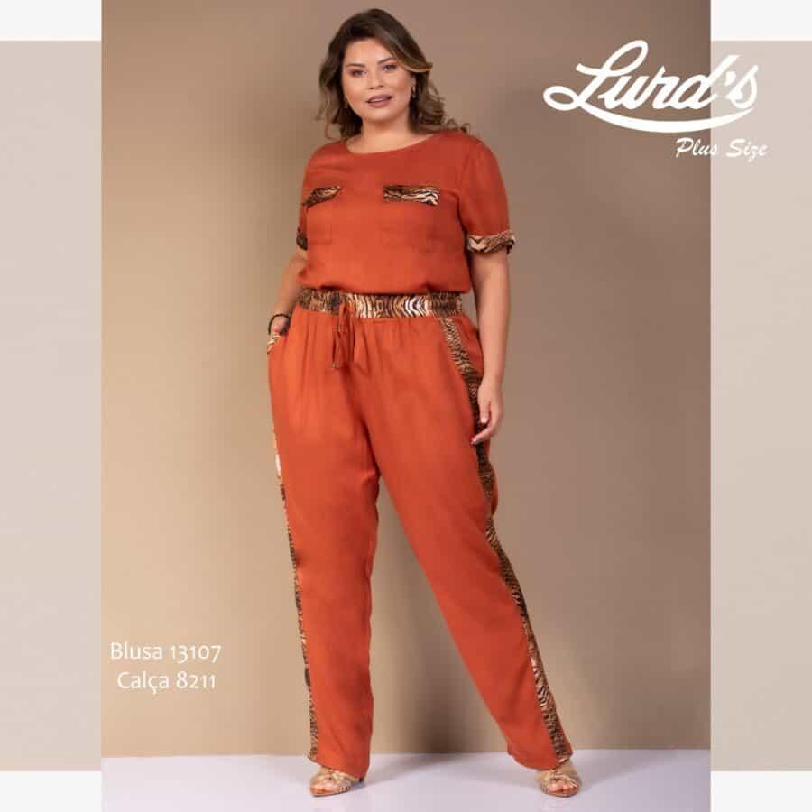 Blusa Plus Size 13107