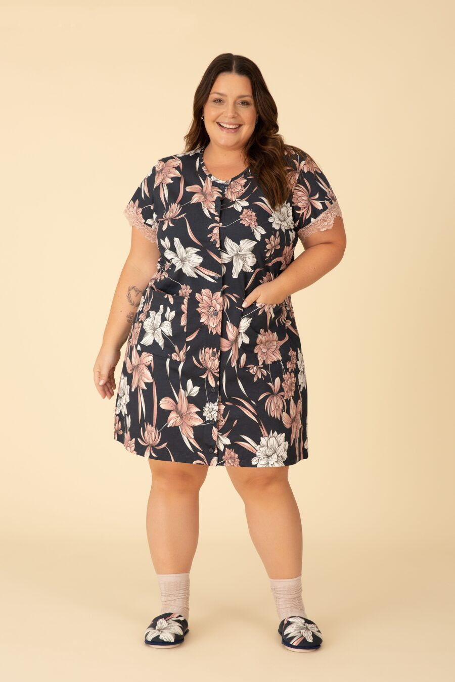 Camisola Plus Size 90094