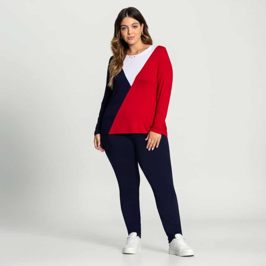 Blusa Plus Size 60175