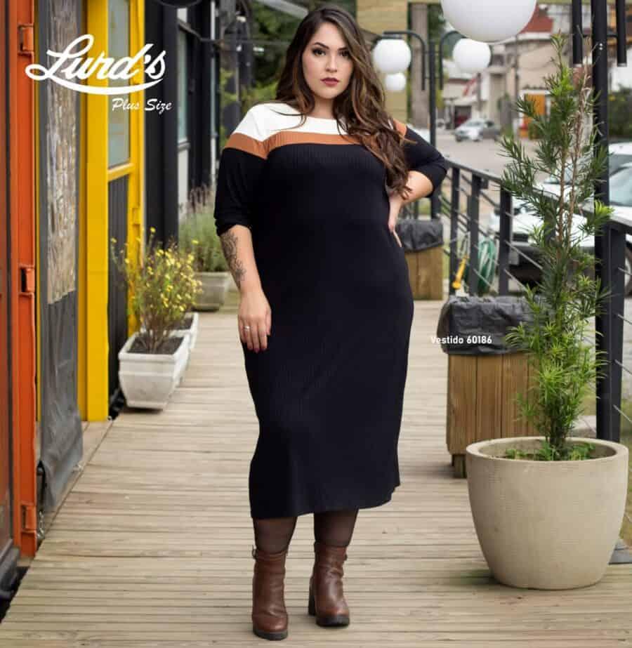 Vestido Plus Size 60186