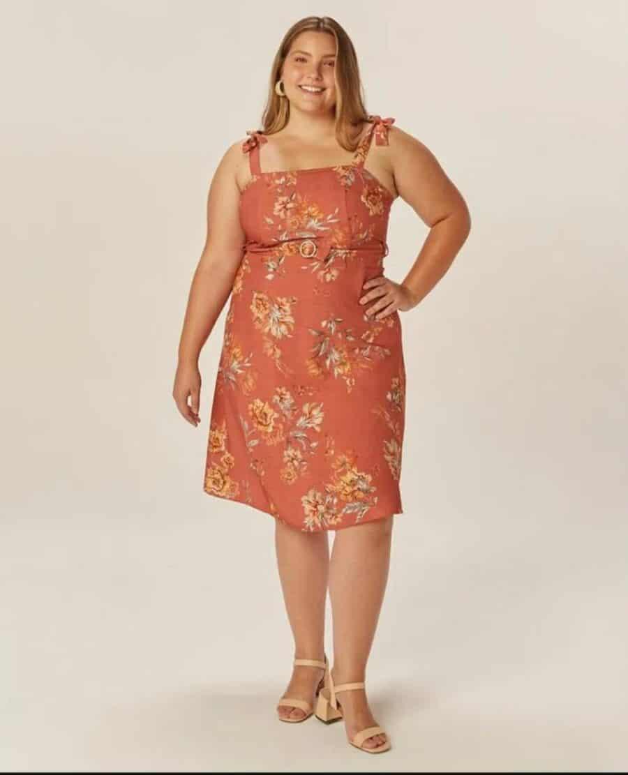 Vestido Plus Size 81138