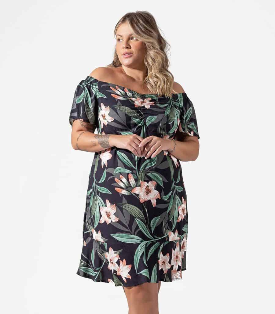 Vestido Plus Size S00643