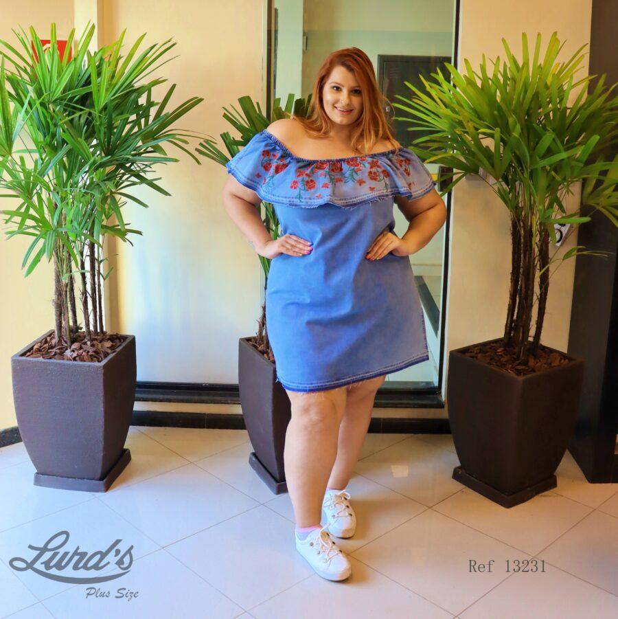 Vestido Plus Size 13231