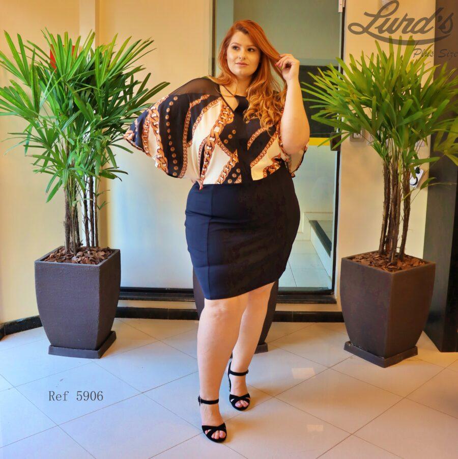 Vestido Plus Size 5906