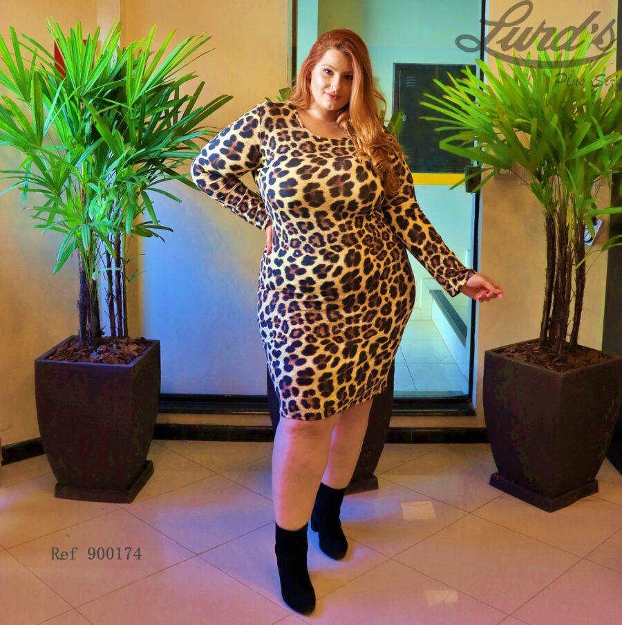 Vestido Plus Size 900174